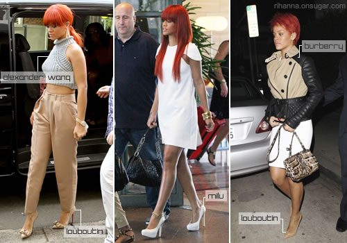 Rihanna's best candid outfits of 2011