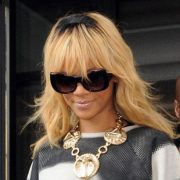 Rihanna in Anna Karin Karlsson sunglasses