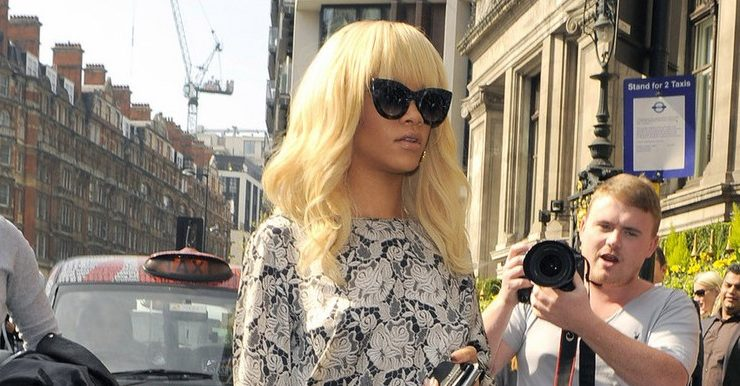 Rihanna in Thierry Lasry sunglasses