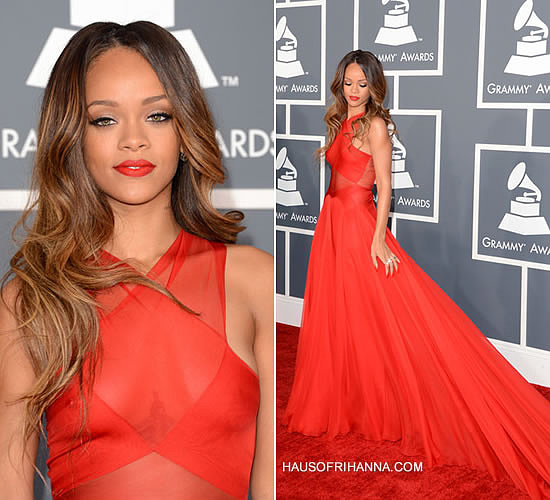 rihanna at the 55th annual grammy awards haus of rihanna haus of rihanna