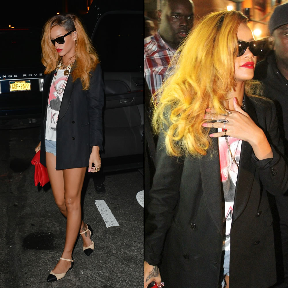 017267a474e Rihanna Out And About In Chanel - Haus of Rihanna