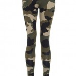 Rihanna for River Island camouflage leggings