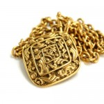 Chanel Etruscan necklace