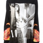 Givenchy graphic printed sweater