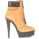 Rihanna for River Island heeled platform boots