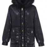 Rihanna for River Island high shine parka jacket