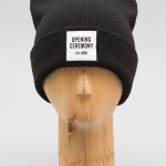 Opening Ceremony patch logo beanie