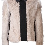 Lanvin lamb fur jacket