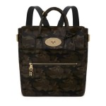 Mulberry x Cara Delevingne khaki camo backpack