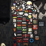 Patches used by Adam Selman for The Monster Tour