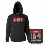The Monster Tour hooded sweatshirt