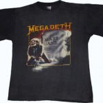 Megadeth 1988 Mary Jane vintage t-shirt as seen on Rihanna