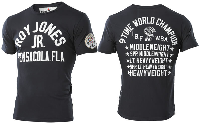 Roots of Fight Roy Jones Jr. t-shirt
