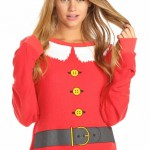 Wildfox Couture Santa and Elf sweater as seen on Rihanna