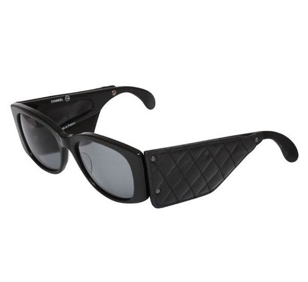 Quilted Chanel Sunglasses Chanel Vintage Quilted Leather