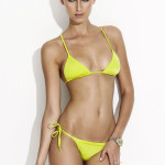 Charlie by Matthew Zink Adriana bikini in Citrine as seen on Rihanna