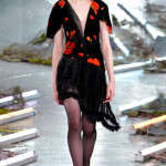 Rodarte Fall 2015 poppy print dress