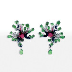 Dior Milly Carnivora Poisonous earrings as seen on Rihanna