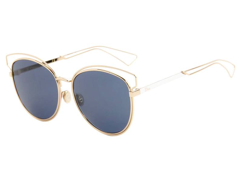 Christian Dior Sideral 2 metal sunglasses in gold as seen on Rihanna
