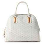 Goyard Vendome PM white handbag as seen on Rihanna