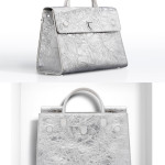 Christian Dior Spring 2016 silver Diorever tote handbag as seen on Rihanna