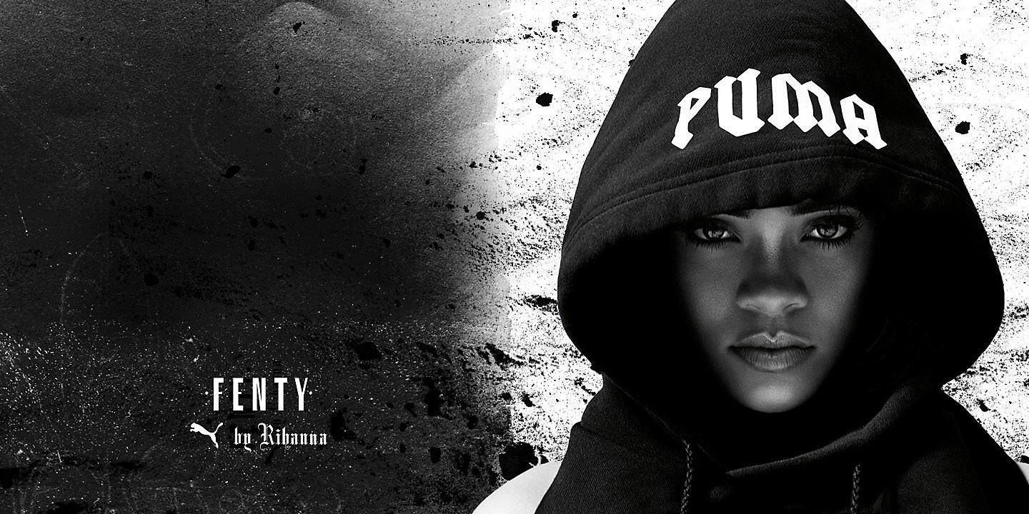 fenty x puma creeper restock and fall campaign haus of rihanna. Black Bedroom Furniture Sets. Home Design Ideas
