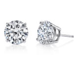 Harry Kotlar diamond stud earrings as seen on Rihanna