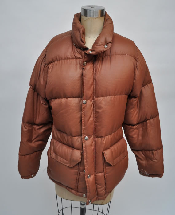 The North Face vintage brown puffer jacket from Goodbye Heart Woman on Etsy 3adfe1a8a