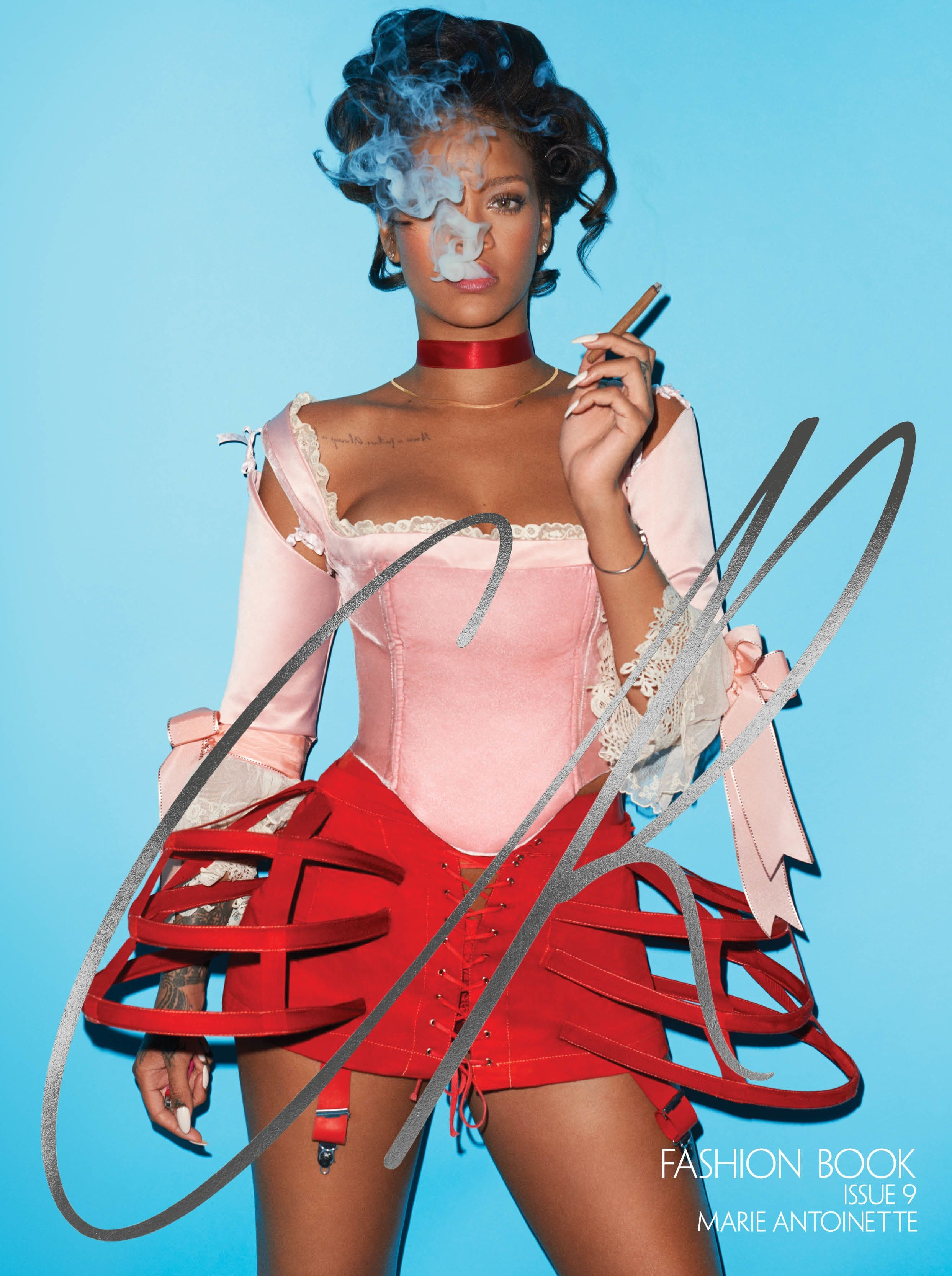 Rihanna CR Fashion Book issue 9 cover