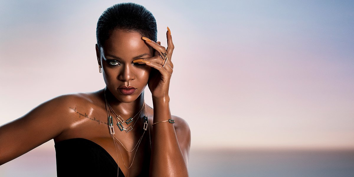 Rihanna Loves Chopard jewellery ad campaign