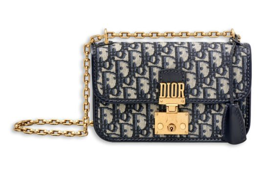 Dior Addict small flap bag oblique canvas as seen on Rihanna
