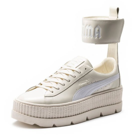 Fenty x Puma ankle strap creeper sneaker as seen on Rihanna