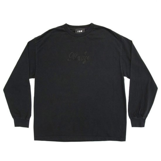 ISM Baby black long sleeve t-shirt as seen on Rihanna