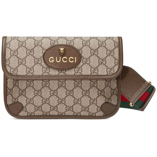 Gucci Totem GG Supreme messenger bag as seen on Rihana
