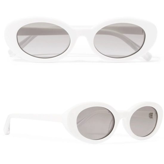 Elizabeth and James Mckinley whtie sunglasses as seen on Rihanna