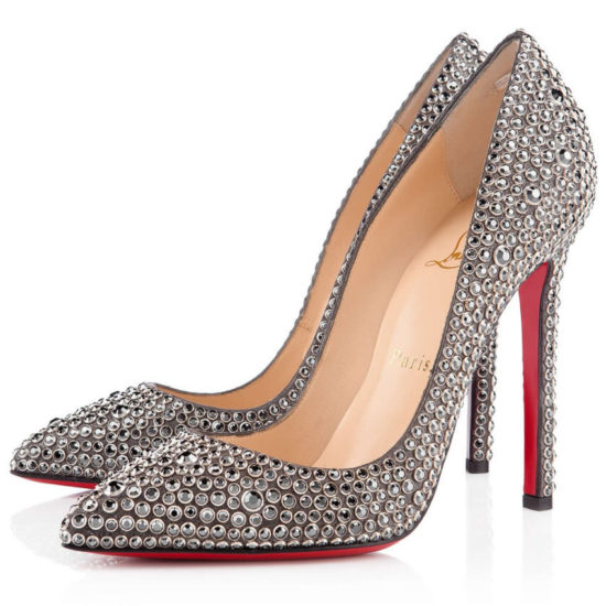 Christian Louboutin Pigalle 120 Burma Ring Strass pumps as seen on Rihanna