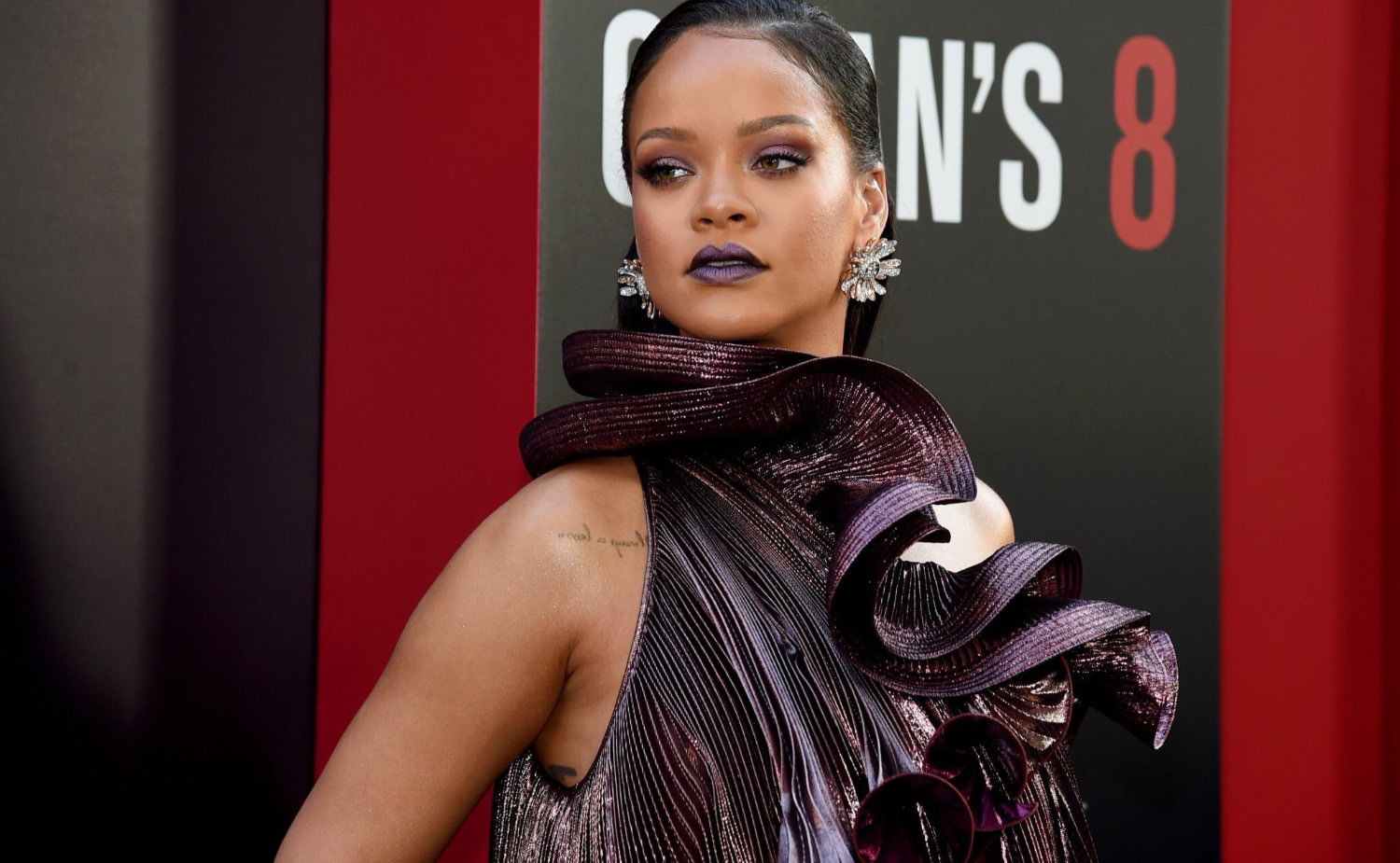 Rihanna Givenchy dress Ocean's 8 premiere