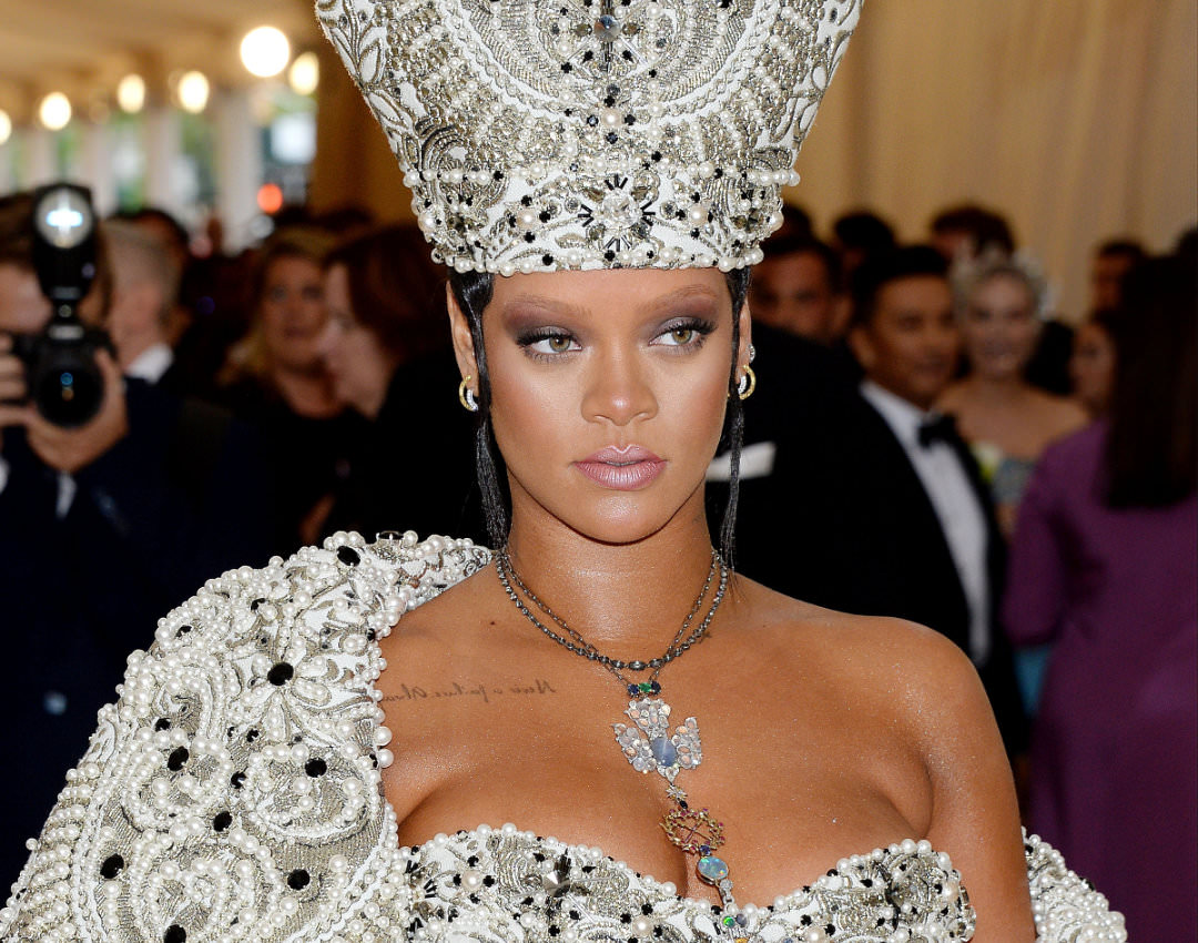 Rihanna Fenty Beauty makeup 2018 met gala