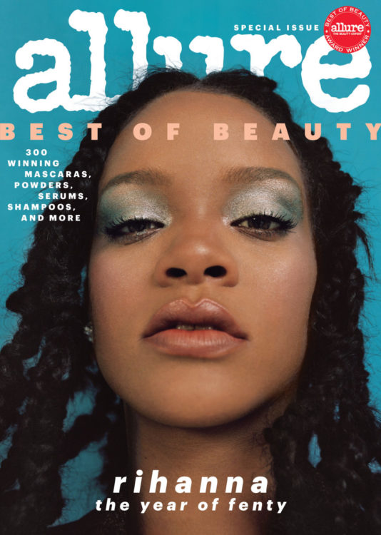 Rihanna Allure Magazine Best of Beauty 2018 special issue cover