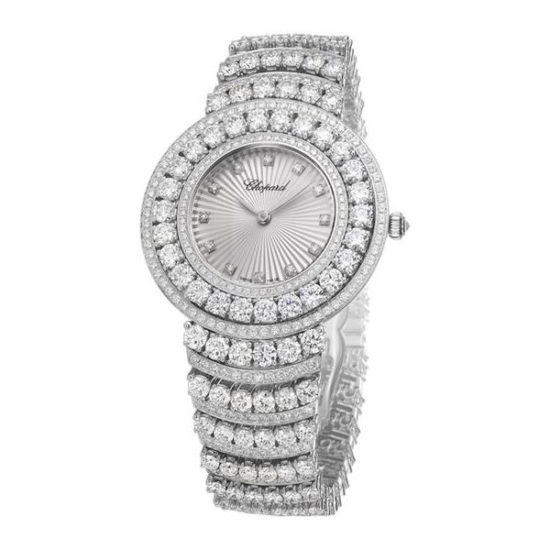 Chopard L'Heure du Diamant diamond watch as seen on Rihanna