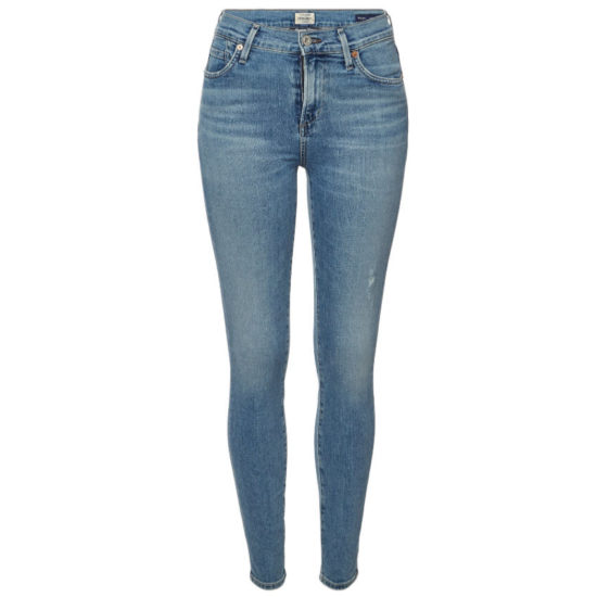 Citizens of Humanity Rocket distressed frayed skinny jeans as seen on Rihanna