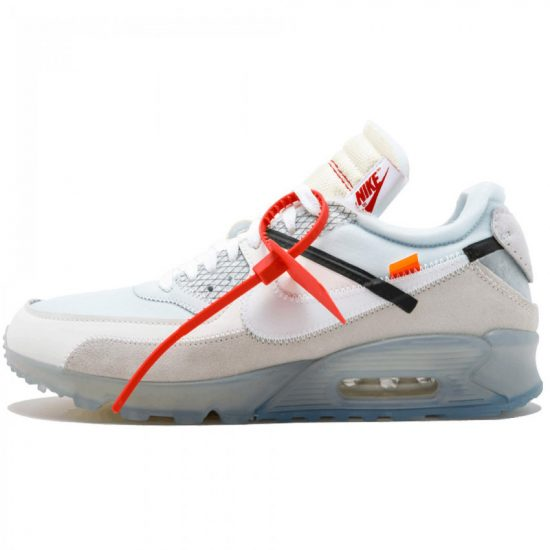 Nike x Off-White Air Max 90 sneakers as seen on Rihanna