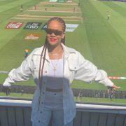 Rihanna at the 2019 Cricket World Cup