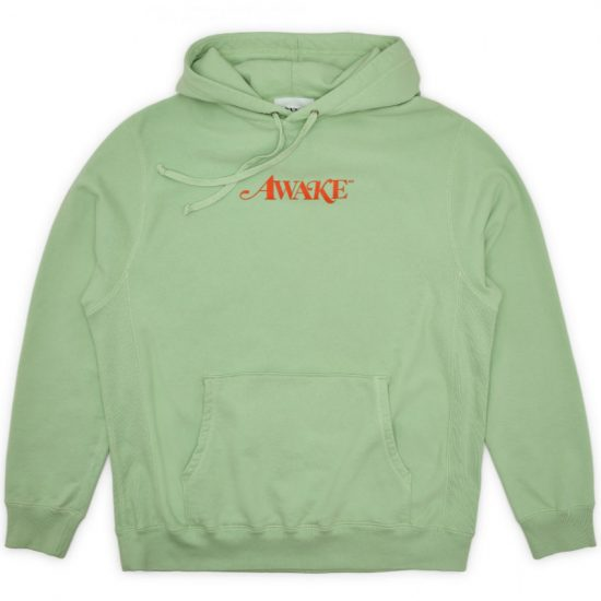 Awake green logo hoodie as seen on Rihanna