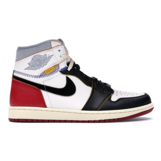 Nike x Union Los Angeles Air Jordan 1 black toe sneakers as seen on Rihanna