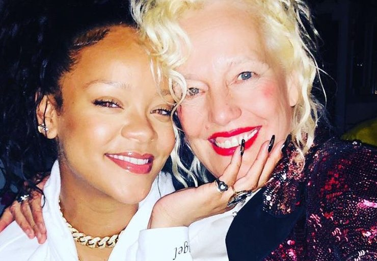 Rihanna with photographer Ellen von Unwerth