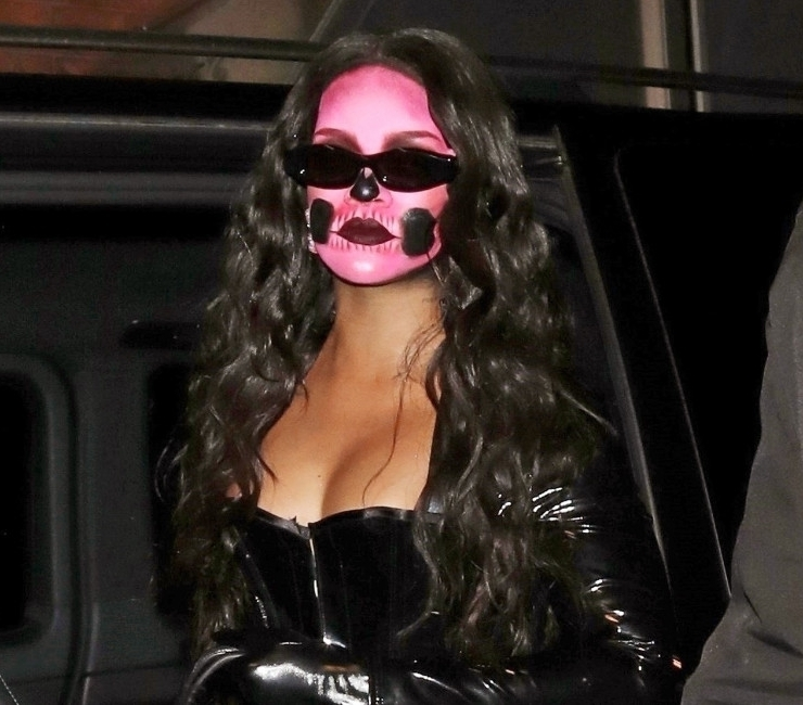 Rihanna in London for Halloween