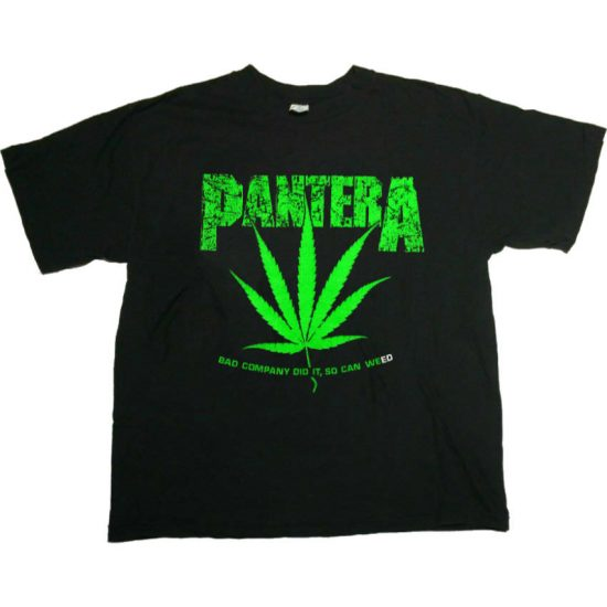 Pantera Fly'n Across America vintage t-shirt as seen on Rihanna