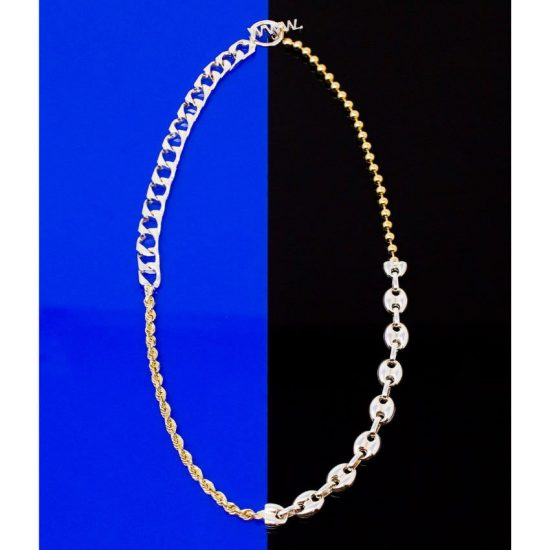 Will Shott split link necklace as seen on Rihanna