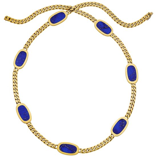Bvlgari vintage tablet necklace as seen on Rihanna